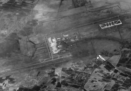 Ofek 1 images of Damascus International Airport