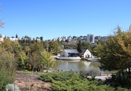 The Botanical Gardens in Jerusalem