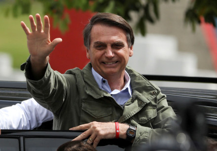 The new Brasilian President Jair Bolsonaro