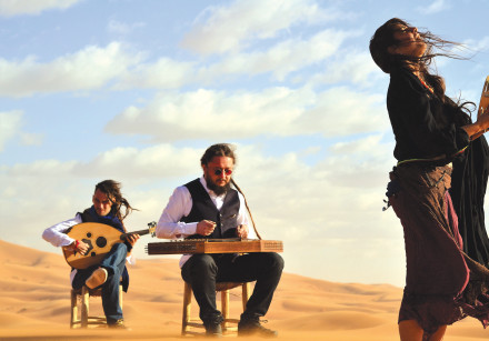 ISRAELI-IRANIAN SINGER Michal Elia Kamal: We are not just sharing traditional folk music