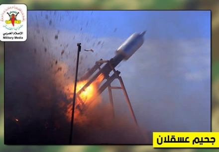 THE NEW rocket produced by Islamic Jihad.