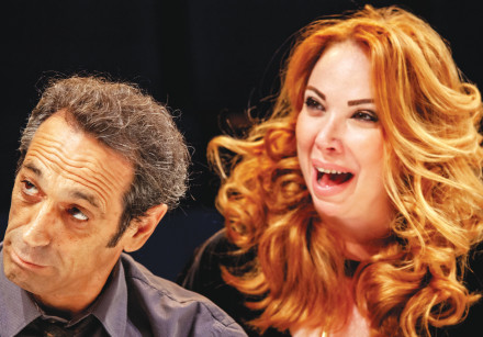 GIL FRANK and Maya Maoz in 'Who's Afraid of Virginia Wolf?'