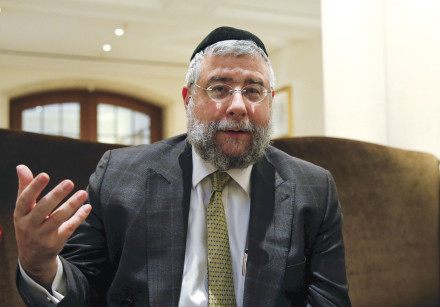 RABBI PINCHAS GOLDSCHMIDT: Jews become the collateral damage