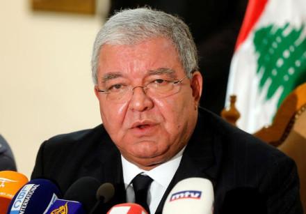 Lebanon's Interior Minister Nohad Machnouk