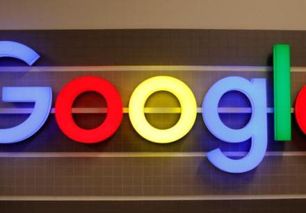 An illuminated Google logo is seen inside an office building in Zurich, Switzerland December 5, 2018
