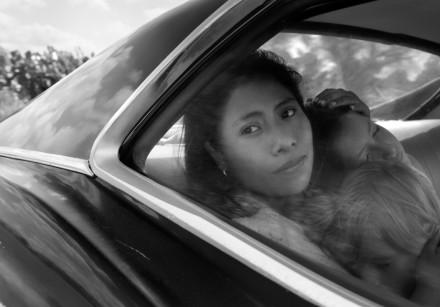YALITZA APARICIO portrays Cleo in 'Roma.'