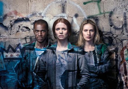 SEAN MONGOZA, Hani Furstenberg and Mali Levi star in 'Asylum City'