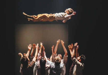 THE HOFESH SHECHTER Dance Company performs 'Grand Finale.'
