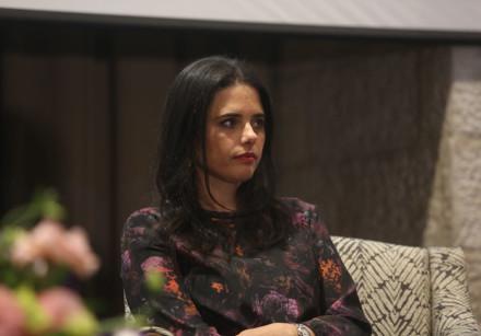 Ayelet Shaked at a meeting, January 17th, 2019