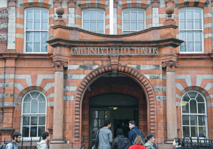 UNIVERSITY COLLEGE of London was home to a violent student protest in 2016 against an event featurin