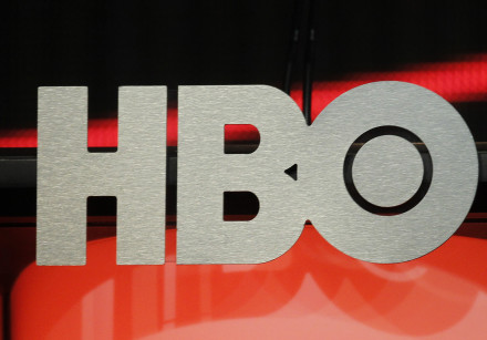 The logo for HBO