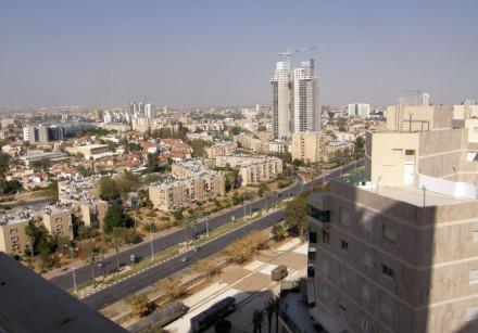 Overhead view of Beersheba
