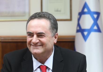 Foreign Minister Israel Katz attends a cabinet meeting, December 2019.