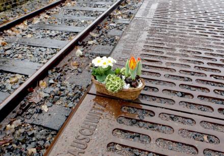 MEDOFF WRITES that FDR refused to bomb railways leading to Auschwitz (Pictured: Railways to Auschwit
