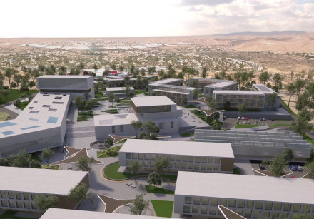 Rendering of the Jewish National Fund-USA Israel Education & Technology Campus
