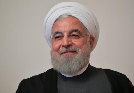 Iranian President Hassan Rouhani  October 1, 2019.