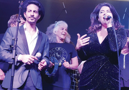 FROM LEFT: Almog Kapah, Idele Ross and Vered Sasportas.