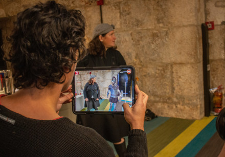 Mars AR at the Tower of David Museum