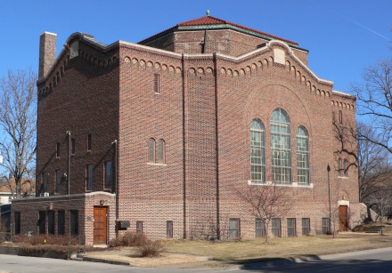 South Street Temple in Lincoln, Nebraska was the subject of an act of vandalism on February 21, 2020