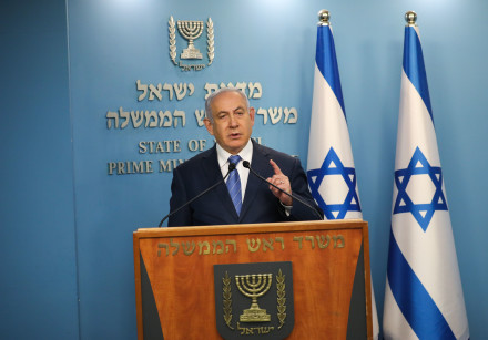 Prime Minister Benjamin Netanyahu threatened of a total lockdown as coronavirus infects 2,369 Israel