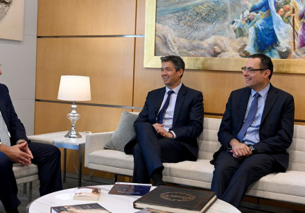 US Ambassador to Israel meets with Yoav Hendel and Zvi Hauser from Telem
