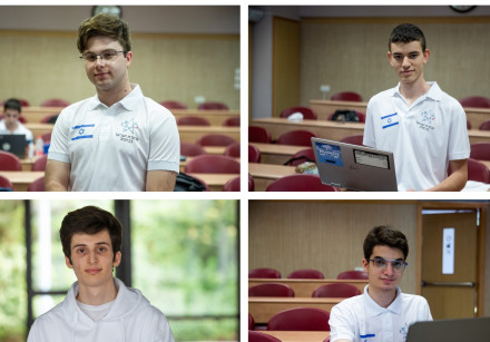 Israel's representatives at the International Chemistry Olympiads in 2020