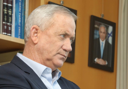 Alternate Prime Minister and Defense Minister Benny Gantz