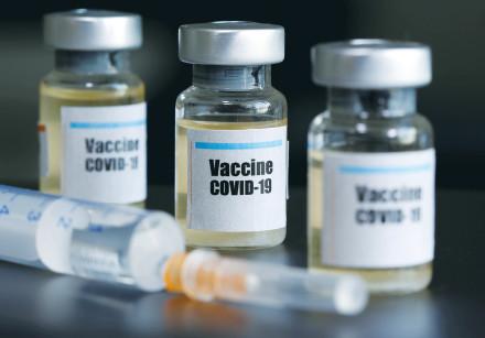Coronavirus vaccine under development (illustrative)