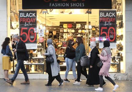 Black Friday sales in Jerusalem, Nov. 2020