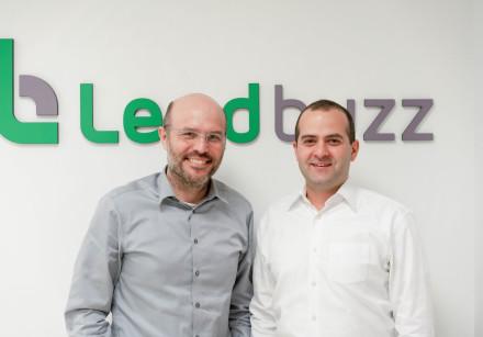 (R-L) Lendbuzz founders Amitay Kalmar and Dr. Dan Raviv.