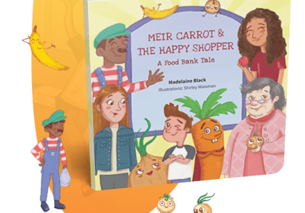 A promotion for the book produced by Madelaine Black and illustrator Shirley Waisman