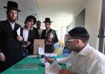 Haredim enlist in national service