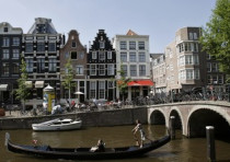 The canals of central Amsterdam
