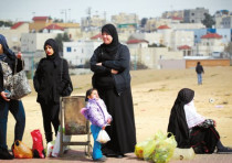 Beduin women in the Negev