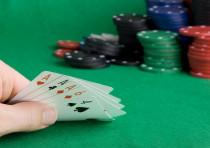 Poker game gambling casino