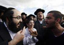 Ultra Orthodox and secular Israelis clash in Beit Shemesh.