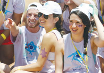 Diaspora youngsters enjoy a Birthright Israel trip to the Jewish state.
