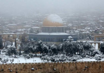 Snow in Jerusalem, February 20, 2015