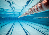 swimming pool under water illustrative