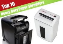 The Top 10 Best-Reviewed Paper Shredders