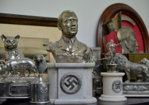 Nazi artifacts seized from a house in Buenos Aires, Argentina