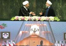 Rouhani and Larijani