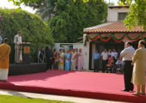 Indian Independence Day ceremony in Tel Aviv