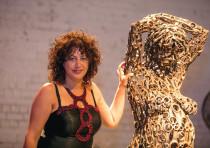 Nirit Levav-Packer brings her dress-design ethos to the world of sculpture.