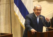 Prime Minister Netanyahu addresses Knesset, October 2017