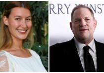 A composite photo of Harvey Weinstein and Stella Penn Pechanac