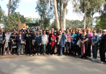 Holocaust survivors take part in ecological tours in Israel