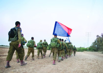 Beduin soldiers in the IDF