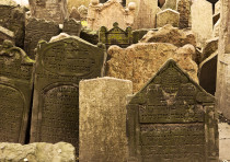 A Jewish cemetery (illustrative)