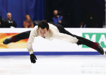 Israel figure skater Alexei Bychenko
